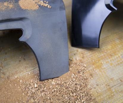Dres-Plast | sabbiatura plastica prima e dopo